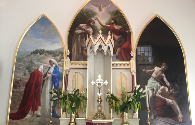 St John the Baptist Triptych (Dub)